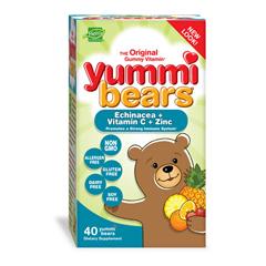 HGR0943266 - Hero NutritionalsHero Nutritionals Yummi Bears Echinacea plus Vitamin C and Zinc - 40 Chewables