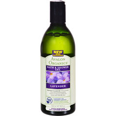 HGR0943753 - AvalonOrganics Bath and Shower Gel Lavender - 12 fl oz