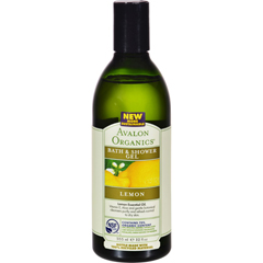 HGR0943761 - AvalonOrganics Bath and Shower Gel Lemon - 12 fl oz