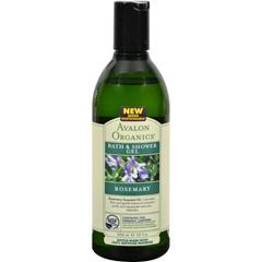 HGR0943779 - AvalonOrganics Bath and Shower Gel Rosemary - 12 fl oz