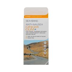 HGR0945865 - Sea-BandAnti-Nausea Ginger Gum - 24 Pieces