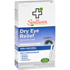 HGR0946814 - SimilasanDry Eye Relief - 20 Sterile Single-Use Droppers