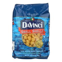 HGR0948935 - Davinci - Pasta - Small Shells - Case of 12 - 1 lb.