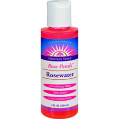HGR0952309 - Heritage Products - Rose Petals Rosewater - 4 fl oz