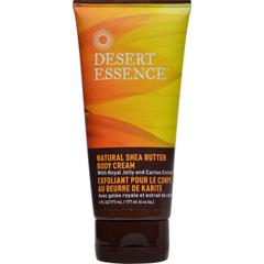 HGR0954776 - Desert EssenceNatural Shea Butter Body Cream - 6 fl oz
