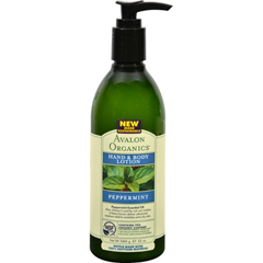 HGR0954834 - AvalonOrganics Hand and Body Lotion Peppermint - 12 fl oz