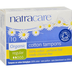 HGR0955153 - NatracareTampons - Regular - 10 Pack