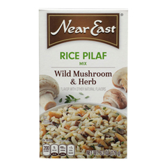 HGR0956144 - Near East - Rice Pilaf Mix - Mushrooms and Herbs - Case of 12 - 6.3 oz.