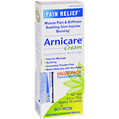 HGR0960575 - BoironArnicare Cream Value Pack with 30 C Blue Tube - 2.5 oz