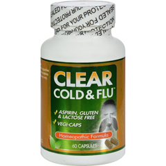 HGR0961029 - Clear ProductsClear Cold and Flu - 60 Capsules