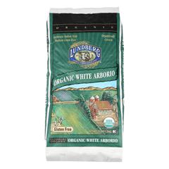 HGR0971390 - Lundberg Family Farms - Organic California White Arborio Rice - Case of 25 lbs
