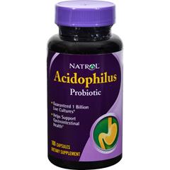 HGR0974774 - NatrolAcidophilus Probiotic - 100 mg - 100 Capsules