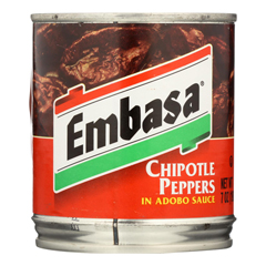 HGR0976407 - Embasa - Adobo Sauce - Chipotle Peppers - Case of 12 - 7 oz..