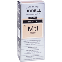 HGR0976522 - Liddell HomeopathicAnti-Tox Metals Spray - 1 fl oz