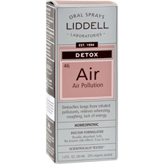 HGR0976530 - Liddell HomeopathicDetox - Air Pollution - 1 oz