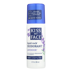HGR0977470 - Kiss My FaceDeodorant Liquid Rock Roll-On Lavender - 3 fl oz