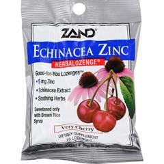 HGR0978270 - ZandHerbaLozenge Echinacea Zinc Natural Cherry - 15 Lozenges - Case of 12