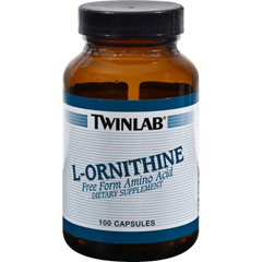 HGR0984104 - TwinlabL-Ornithine - 500 mg - 100 Capsules