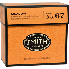 HGR0984906 - Smith TeamakerHerbal Tea - Meadow - Case of 6 - 15 Bags