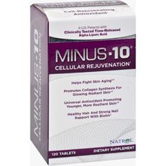 HGR0986299 - NatrolMinus-10 Cellular Rejuvenation - 120 Tablets