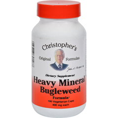 HGR0987206 - Dr. Christopher'sHeavy Mineral Bugleweed Formula - 400 mg - 100 Caps