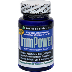HGR0988337 - American Bio-Sciences ImmPower AHCC - 500 mg - 30 Capsules