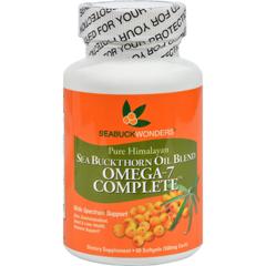 HGR0990655 - Seabuck WondersSea Buckthorn Omega 7 Complete - 500 mg - 60 Softgels