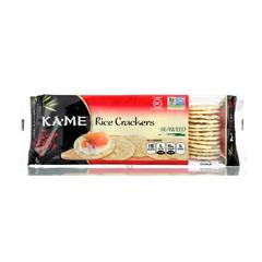 HGR0997361 - Ka'Me - Rice Crackers - Seaweed - Case of 12 - 3.5 oz..