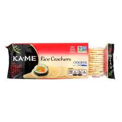 HGR0997528 - Ka'Me - Rice Crackers - Original - Case of 12 - 3.5 oz..