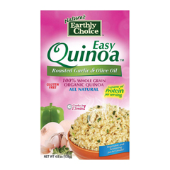 HGR1000744 - Nature's Earthly Choice - Roasted Garlic & Olive Oil Quinoa - Case of 6 - 4.8 oz