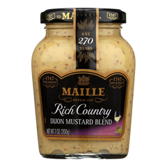 HGR1014174 - Maille - Rich Country Dijon Mustard - Case of 6 - 7 oz..