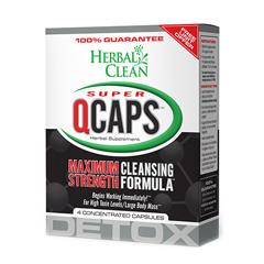 HGR1014406 - Herbal CleanSuper Qcaps Maximum Strength - 4 Capsules