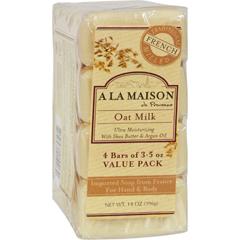 HGR1015700 - A La MaisonBar Soap - Oat Milk - Value 4 Pack
