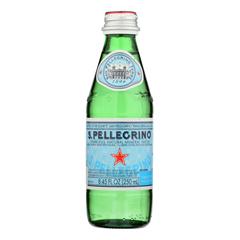 HGR1017243 - San Pellegrino - Natural Sparkling Mineral Water - Case of 4 - 6/250 ML