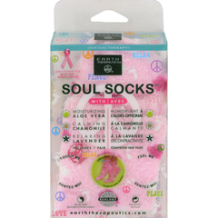 HGR1019447 - Earth TherapeuticsSoul Socks - Pink Polka Dot - 1 Pair