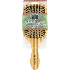 HGR1019488 - Earth TherapeuticsLarge Bamboo Lacquer Pin Paddle Brush - 1 Brush
