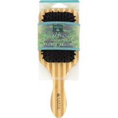 HGR1019504 - Earth TherapeuticsLarge Bamboo Natural Bristle Paddle Brush - 1 Brush