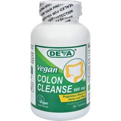 HGR1020361 - Deva Vegan VitaminsColon Cleanse - 595 mg - 90 Tablets