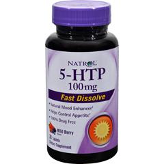 HGR1024801 - Natrol5-HTP Fast Dissolve Wild Berry - 100 mg - 30 Tablets