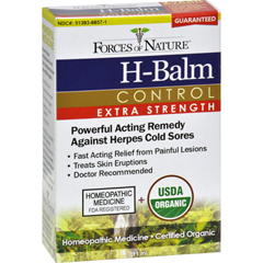 HGR1025303 - Forces of NatureOrganic H-Balm Daily Control - Extra Strength - 11 ml