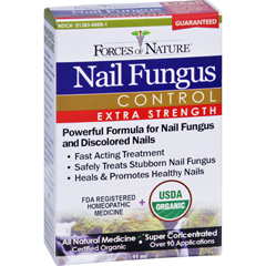 HGR1025352 - Forces of NatureOrganic Nail Fungus Control - Extra Strength - 11 ml
