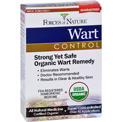 HGR1025360 - Forces of NatureOrganic Wart Control - 11 ml