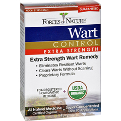 HGR1025378 - Forces of NatureOrganic Wart Control - Extra Strength - 11 ml