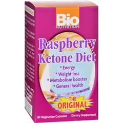 HGR1029438 - Bio NutritionRaspberry Ketone Diet - 60 Veggie Capsules