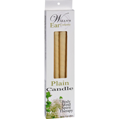 HGR1029719 - Wally's Natural Products - Wallys Candle - Plain - 4 Candles