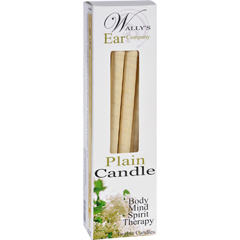 HGR1029727 - Wally's Natural Products - Wallys Candle - Plain - 12 Candles