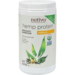 HGR1043728 - NutivaOrganic Hemp Shake Vanilla - 16 oz