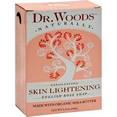 HGR1053222 - Dr. WoodsBar Soap Skin Lightening English Rose - 5.25 oz