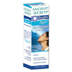 HGR1063304 - Ancient SecretsBreathe Again Nasal Spray - 3.38 fl oz