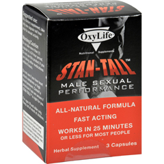 HGR1064237 - Oxylife ProductsOxylife Stan-Tall Male Sexual Performance - 3 Capsules